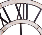 Antique-Style 60cm XL Floating Contra Clock 4
