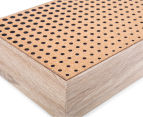 Wooden 24cm Cork-Top Tea Box 4