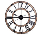 Antique-Style 60cm XL Floating Contra Clock 6