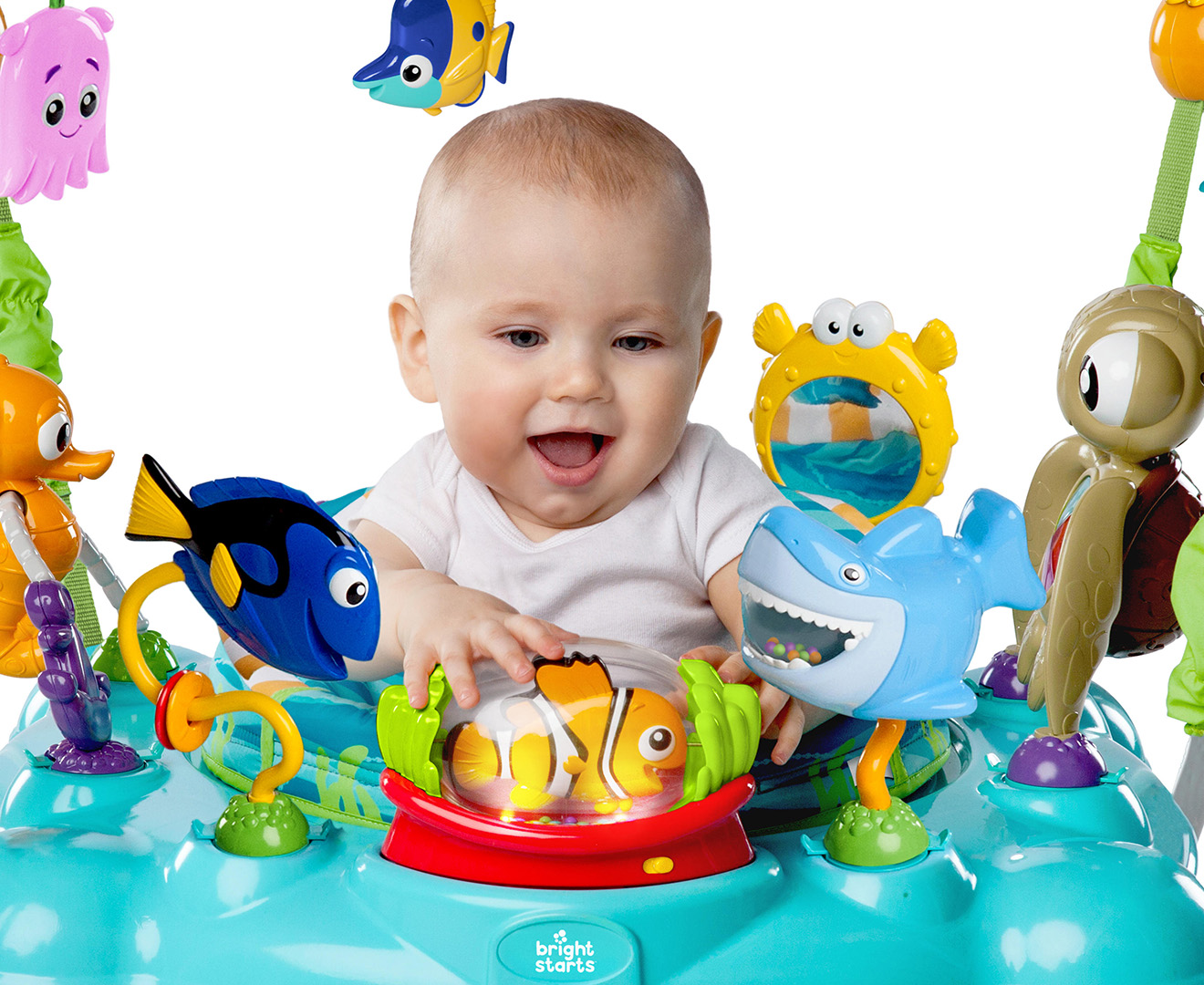 3cb996165e9 Finding Nemo Sea Of Activities Baby/Infant Bouncer/Jumper Rocking  Chair/Music/Toy