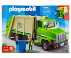 Playmobil Green Recycling Truck Building Set 2