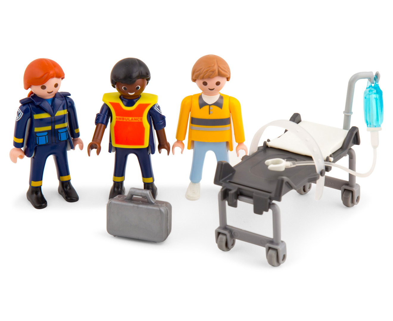 Playmobil Rescue Ambulance w Light & Sound Building Set | Great ...