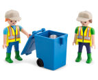Playmobil Green Recycling Truck Building Set 5