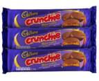 3 x Cadbury Crunchie Biscuits 130g 1