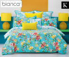 Bianca Macey King Bed Quilt Cover Set - Multi 1