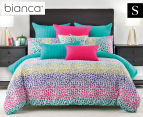 Bianca Tisha Single Bed Quilt Cover Set - Multi 1