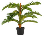Botanica Artificial 75cm Fern Plant - Green 2