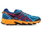 ASICS Women's GEL-Sonoma Shoe - Deep Blue/Hot Pink/Nectarine 1