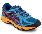 ASICS Women's GEL-Sonoma Shoe - Deep Blue/Hot Pink/Nectarine 2