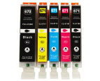 PGI670XL CLI671XL Compatible Inkjet 5-Pack For Canon Printers 1