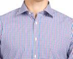 Ben Sherman Men's Check Shirt - Red/Blue 6
