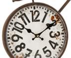 Vintage Decorative 58x43cm Bicycle Wall Clock 4