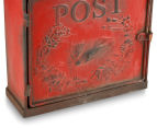 Vintage Decorative 35x25cm Post Box - Red 5