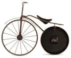 Vintage Decorative 58x43cm Bicycle Wall Clock 3
