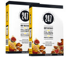 2 x 247 Honey Toasted Oats, Fig, Date, Coconut & Almonds Breakfast Grains 400g 1