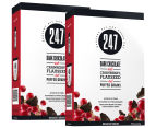 2 x 247 Dark Choc, Cranberry & Flaxseed Breakfast Grains 400g 1