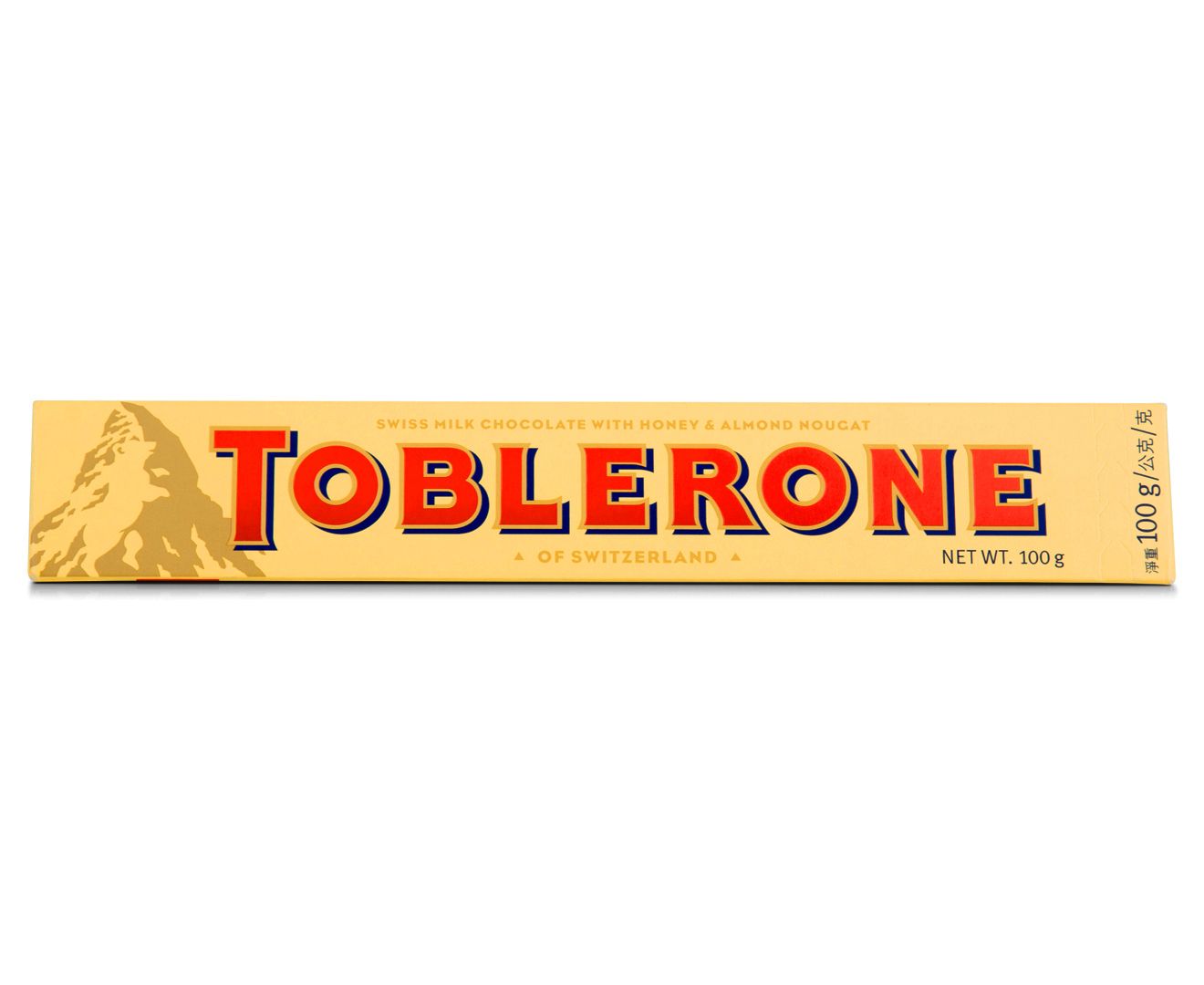 3 X Toblerone Milk Chocolate 100g