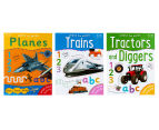 Learn To Write #3 Wipe-Clean Activity Book 3-Pack  3