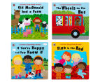 Ladybird Sing-Along Rhymes Board Book 4-Pack 3