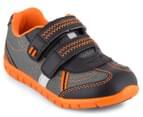 Clarks Kids' Hayden Shoe - Black/Orange 2