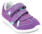 Clarks Kids' Hayden Shoe - Purple Mint 2
