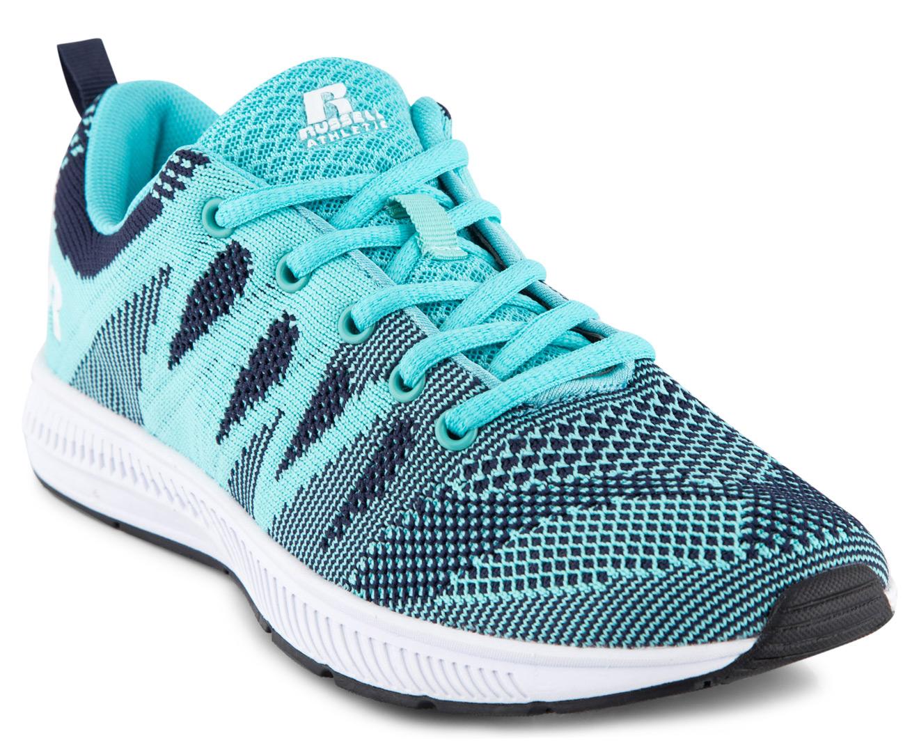 Russell Athletic Womenu0026#39;s Magni Shoe - Aqua/Navy | Great ...
