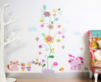 Puppy, Kitten & Flowers Wall Decals 1