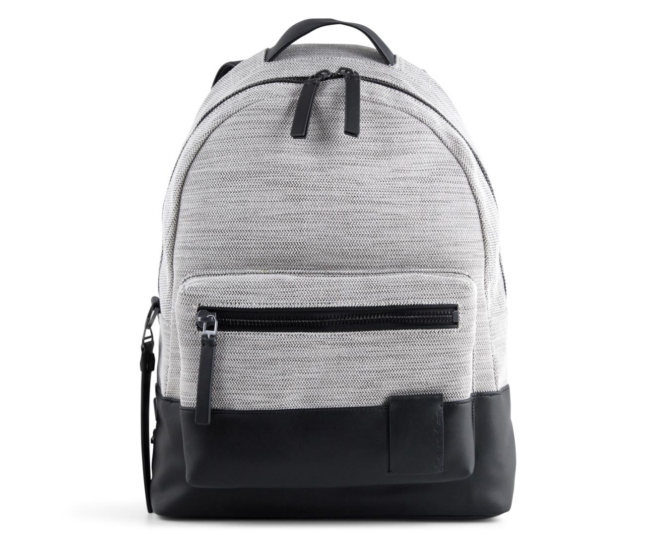 fbfd6f6a8 Calvin Klein Jeans Men's Mechanical Weave Campus Backpack - Sand |  Catch.com.au