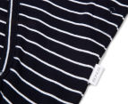 Bonds Baby Newbies Coverall - Admiral Jess & White Stripe 5