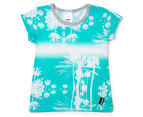 Bonds Baby Mix N' Match Short Sleeve Jersey Tee - Cool Blue Print 1