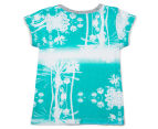 Bonds Baby Mix N' Match Short Sleeve Jersey Tee - Cool Blue Print 2