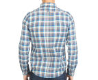 Ben Sherman Men's Oxford Multi Check Shirt - Ash 5