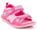 Clarks Kids' Feisty II Sandal - Pink/Multi 2