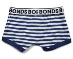 2 x Bonds Boys' Fit Trunk - Stripe 36 2