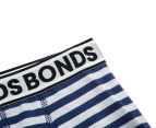 2 x Bonds Boys' Fit Trunk - Stripe 36 3