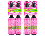 2 x 3M Scotch-Brite Printed Mini Lint Roller Twin Pack 1