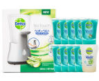 Dettol No-Touch Automatic Handwash Dispenser + 10 x Refills 250mL 1
