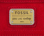 Fossil Women's Emory Clutch Wallet - Red 4