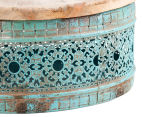 Set Of 2 Nested Metal Round Boxes 5