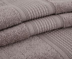 Luxury Living 70x140cm Bath Towel 4-Pack - Mocha 2