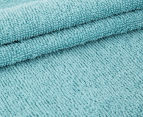 Luxury Living Velour 40x60cm Hand Towel 4-Pack - Turquoise 3
