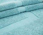 Luxury Living 45x75cm Bath Mat 2-Pack - Turquoise 2