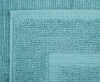 Luxury Living 45x75cm Bath Mat 2-Pack - Turquoise 4