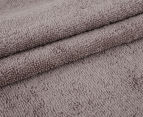 Luxury Living 80x160cm Bath Sheet 2-Pack - Mocha 3