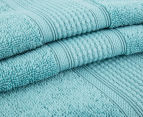 Luxury Living 80x160cm Bath Sheet 2-Pack - Turquoise 2