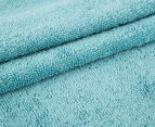 Luxury Living 80x160cm Bath Sheet 2-Pack - Turquoise 3