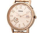 Fossil Women's 40mm Vintage Muse Multifunction Watch - Rose Gold 3