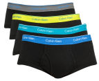 Calvin Klein Men's Classic Briefs 4-Pack - Black/Multi 1