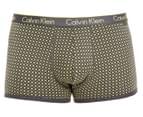 Calvin Klein One Men's Cotton Trunk - Polka Dots 1