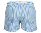 Calvin Klein Men's Slim Fit Boxers 2-Pack - Blue 3